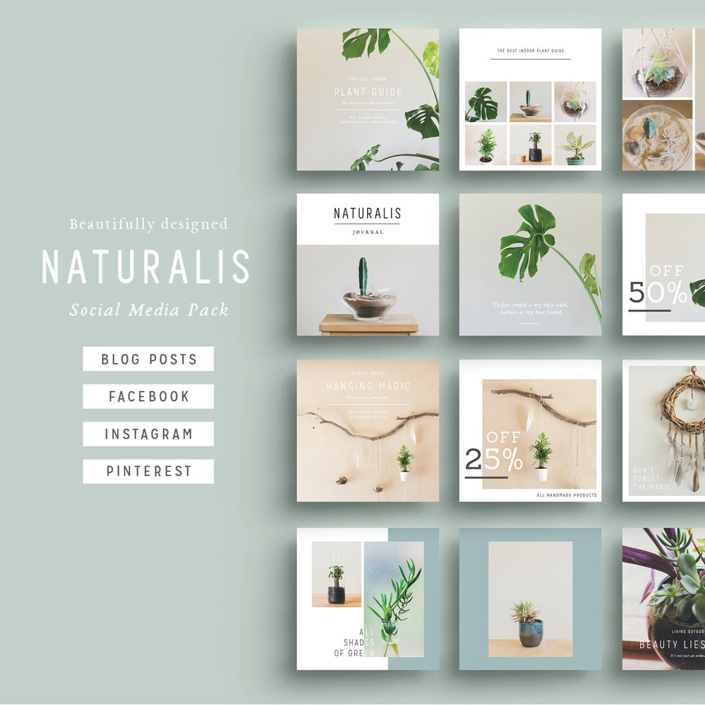 Image of NATURALIS Social Media Pack