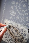 Lund Furniture Stencil for Furniture, Wall and Fabric Projects-Scandi stencil-DIY