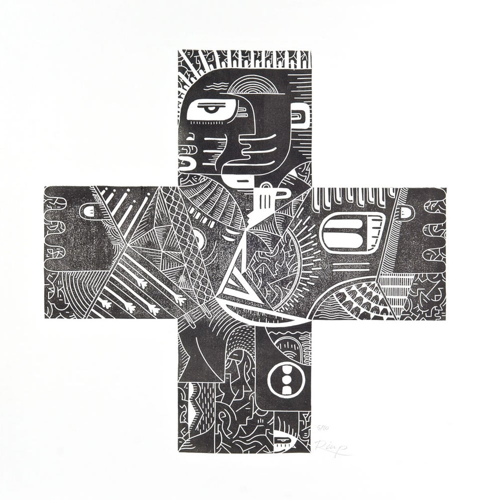 Image of Cross - 50 x 50 cm