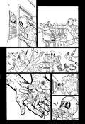 "Image of ORIGINAL ART--DEADPOOL in Gwenpool Holiday Special: Merry Mix Up ""Deadpooloween"" Page 02"