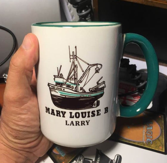 Image of Custom Boat Mugs