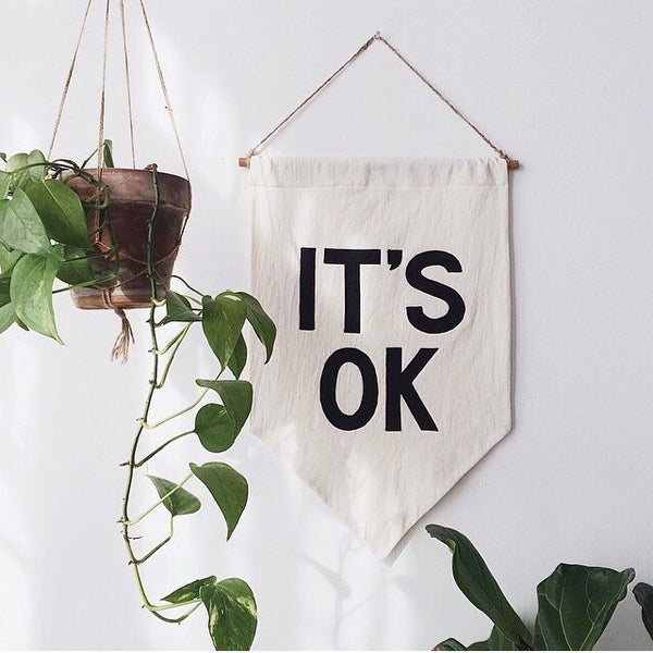 Image of IT'S OK Banner