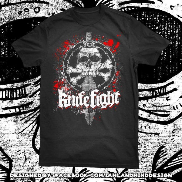 Image of Dagger Skull T-shirt