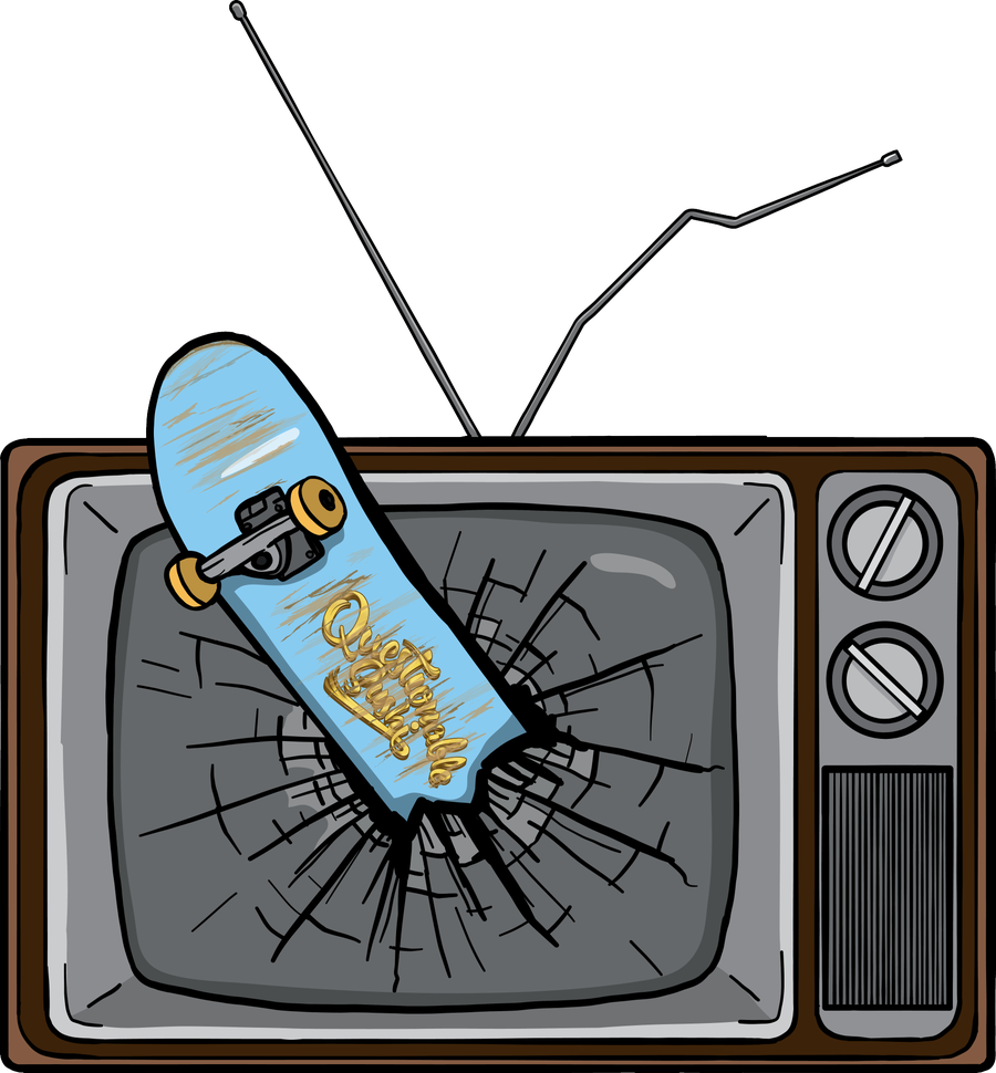 Image of TV Sucks Pin