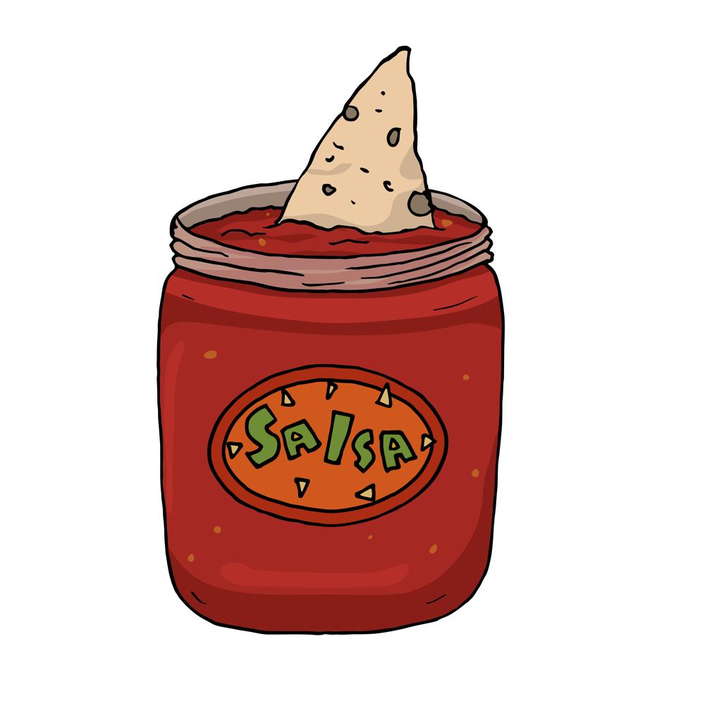 Image of Salsa Shark Pin