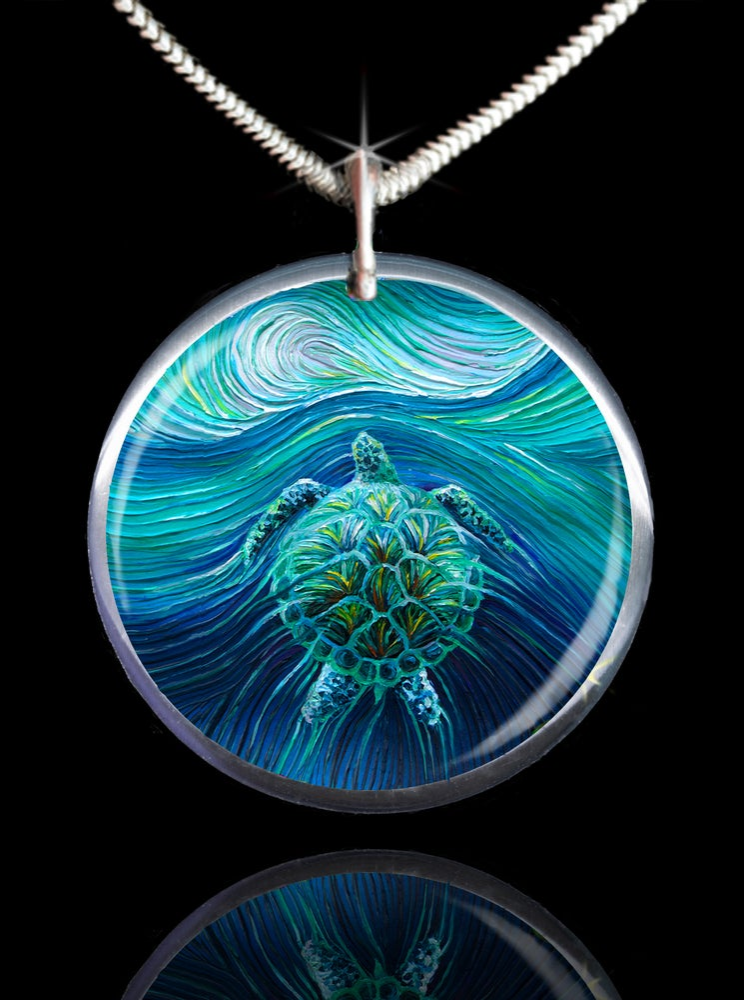 Image of Turtle Spirit Energy Pendant