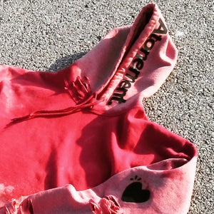 "Image of The ""Alpha Male"" Soft-Red Hoodie"