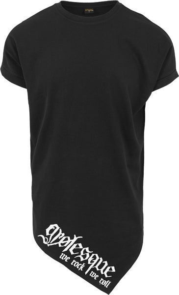 Image of LOGO ASYMMETRIC LONG TEE