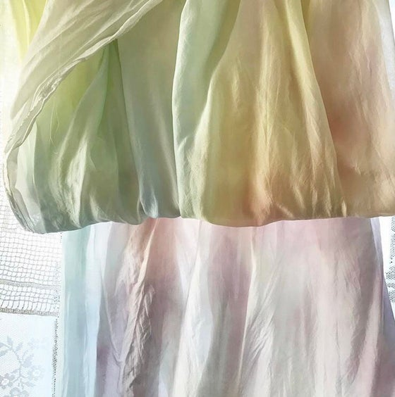 Image of Unicorn Silk Yardage