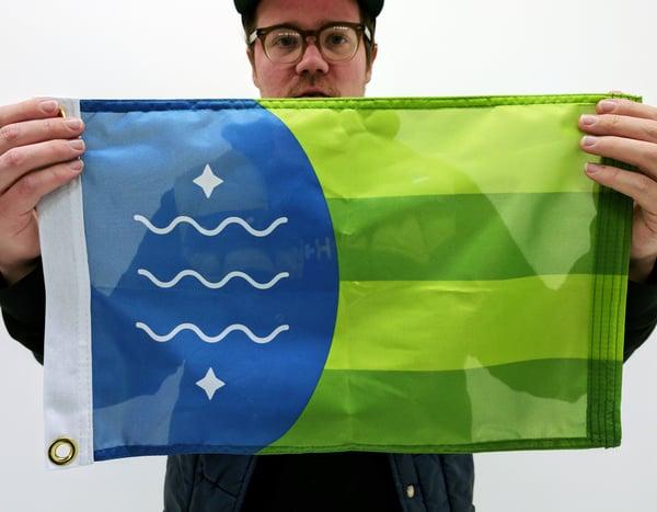 Image of Bellingham Sailboat Flag
