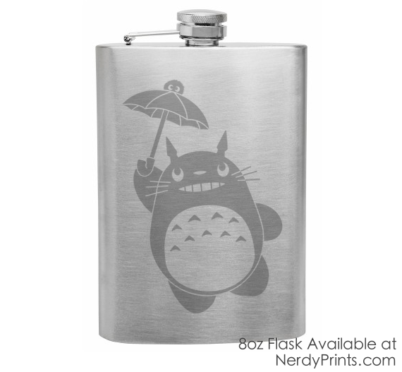 Image of My Neighbor Totoro Flask (New Design!)