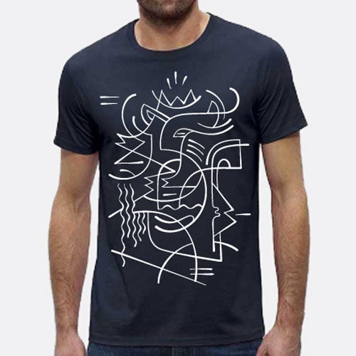 Image of Tee-shirt Navy
