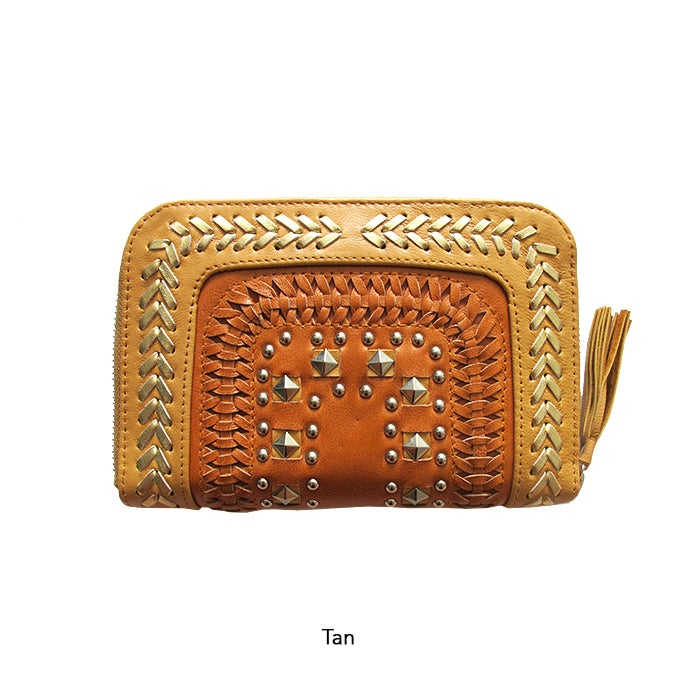 Image of SOLANGE LEATHER WALLET