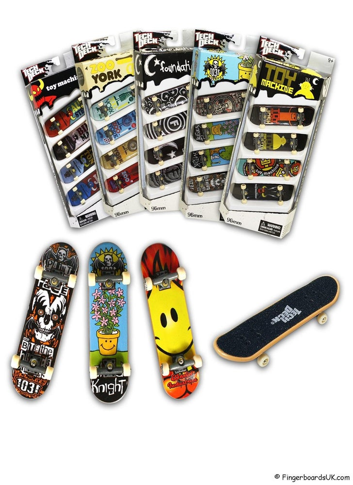 Image of Tech Deck 4 Pack