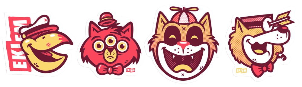 Image of Le Sticker Pack #3