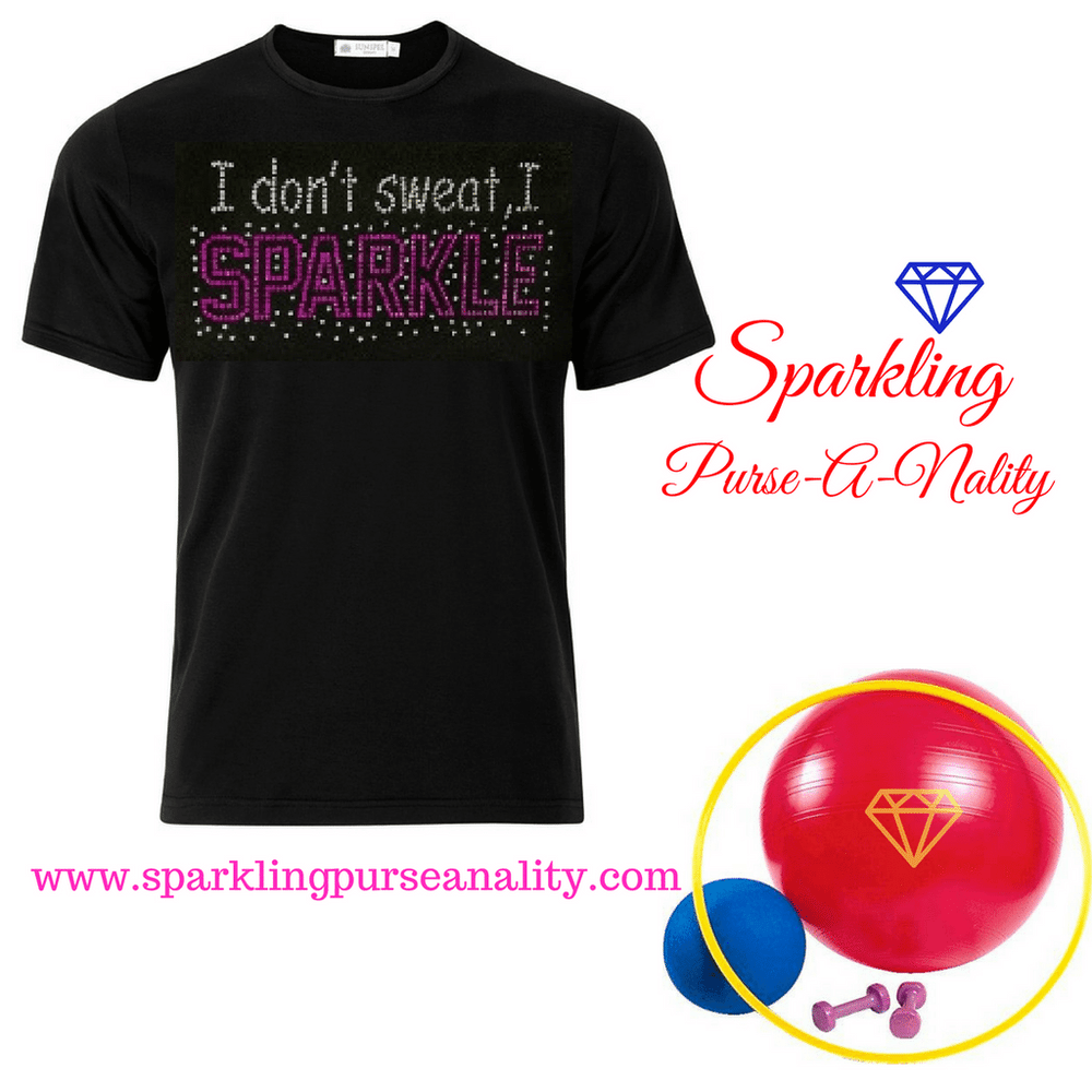 "Image of ""Sparkling"" Healthy/Workout Shirts (3 Different Designs)"