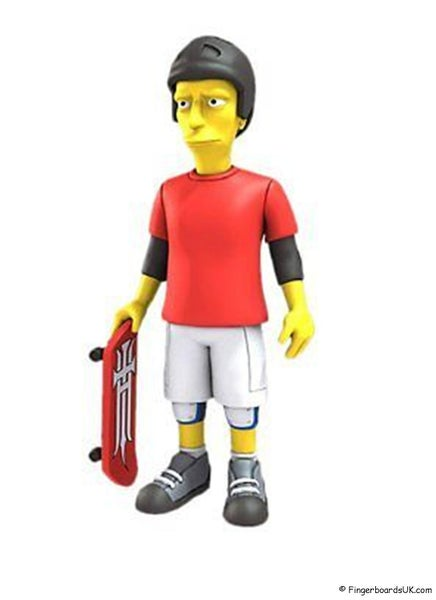 Image of NECA The Simpsons 25th Anniversary Guest Stars Series 2 - Tony Hawk Figure