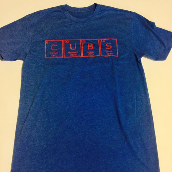 Image of periodic cubs. - graphic tee