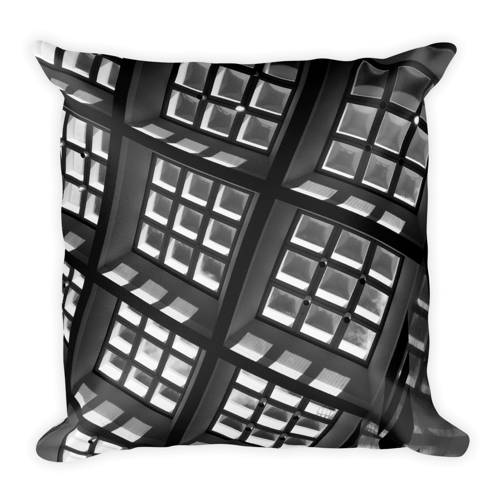 Image of SQUARE CUBED PILLOW