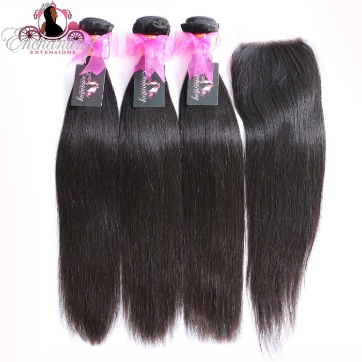 Image of Enchanting straight with closure