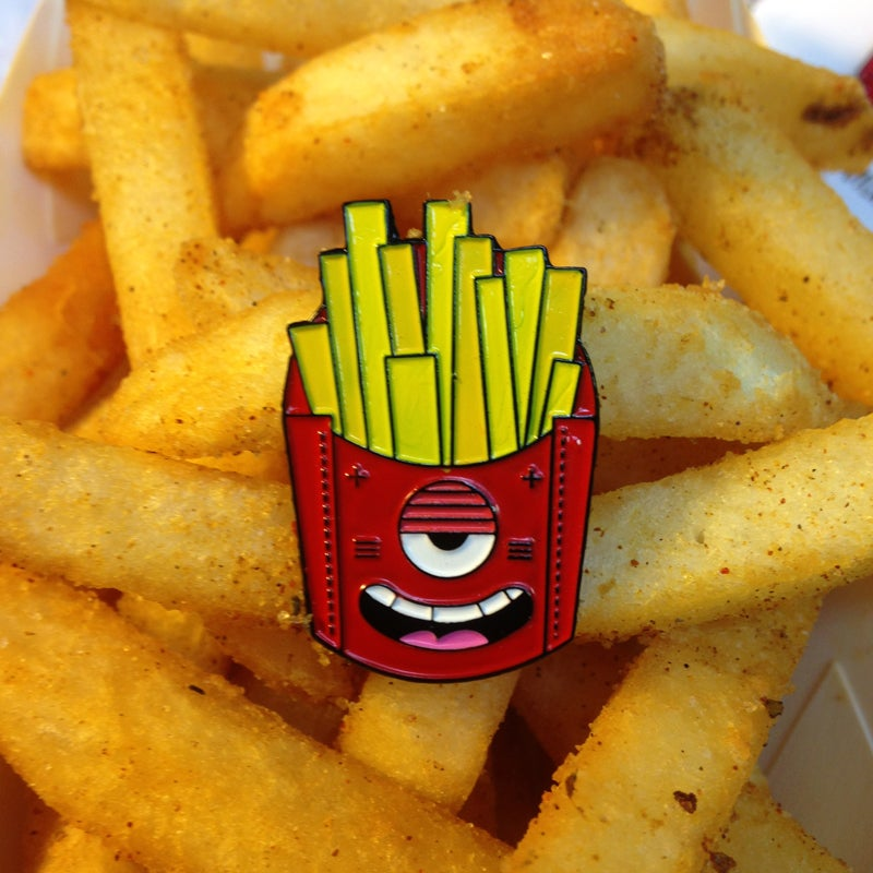 Image of CRAPPY FRIED FRIES PIN