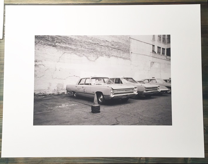 Image of taxis (17x22)