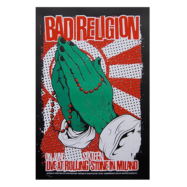 Image of BAD RELIGION - Milano 2008
