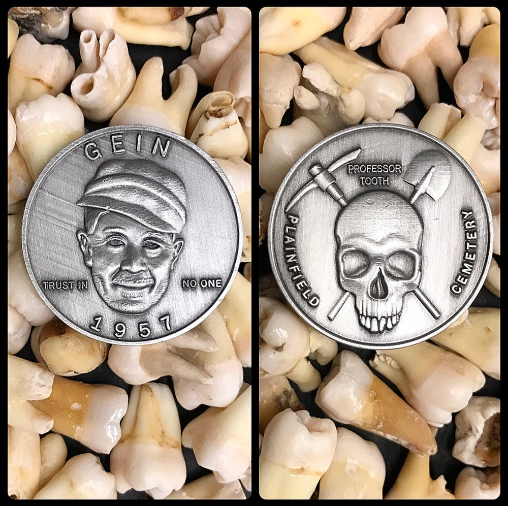 Image of Killer Edward Gein Coin