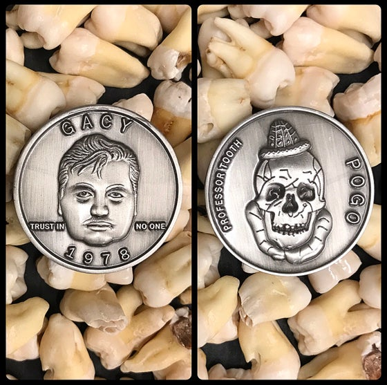 Image of Serial Killer John Wayne Gacy Coin
