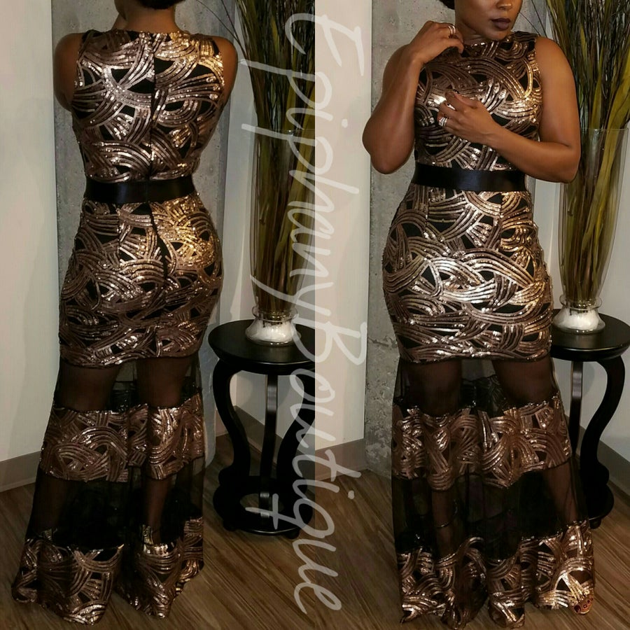 Image of The Bronze Cre' Gown**ON SALE**