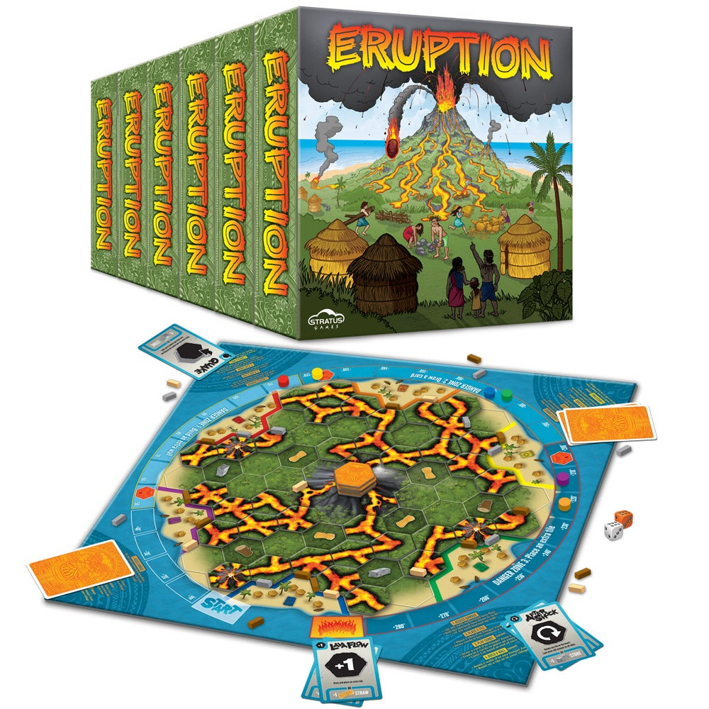 Image of Eruption - Case of 6 Games