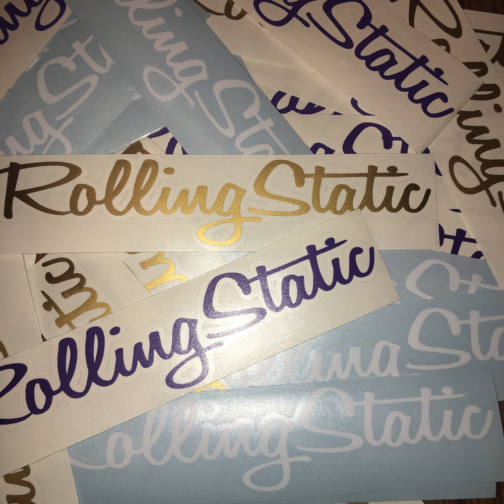 Image of RollingStatic Window Sticker 200mm