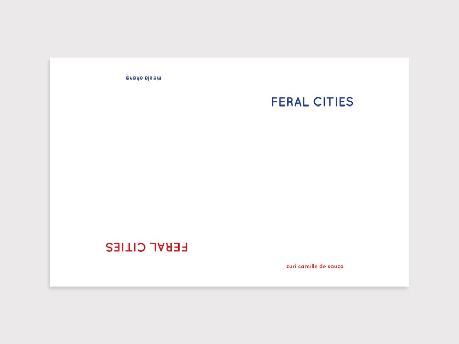 Image of Feral Cities Volume 1 Photobook
