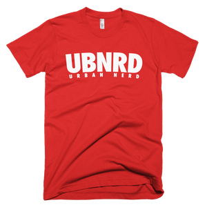 Image of Urban Nerd ™ #UBNRD HASHTAG TEE (RED)