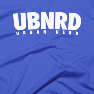Image of Urban Nerd ™ #UBNRD HASHTAG TEE (ROYAL)