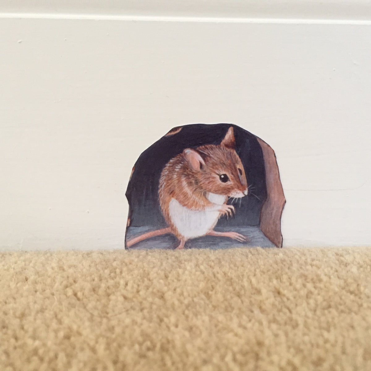 Image of Monty mouse ~ Wall decal