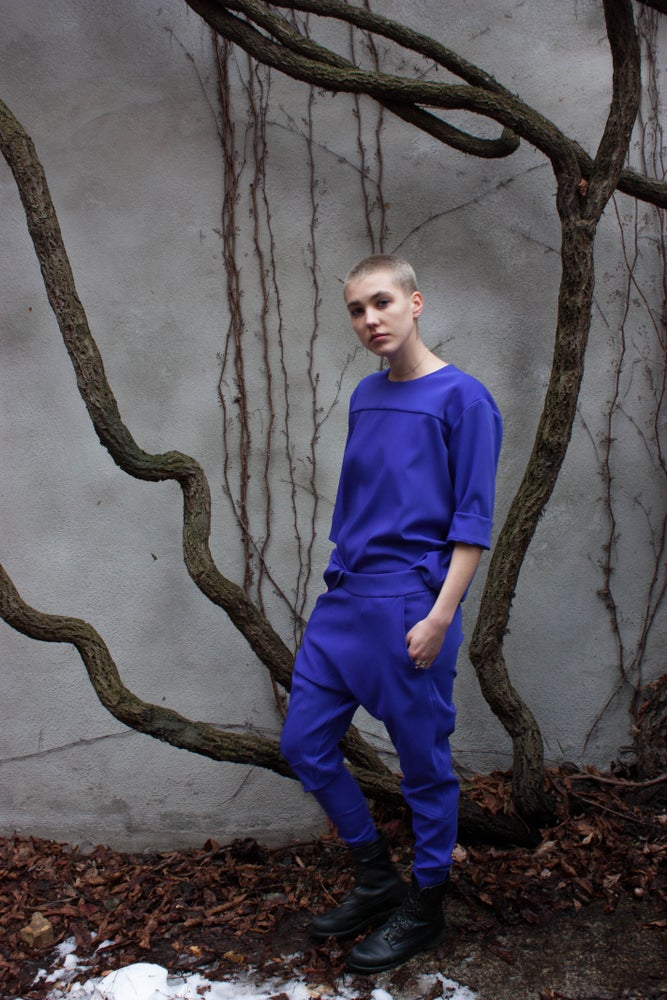 Image of Jogging Suit - Purple