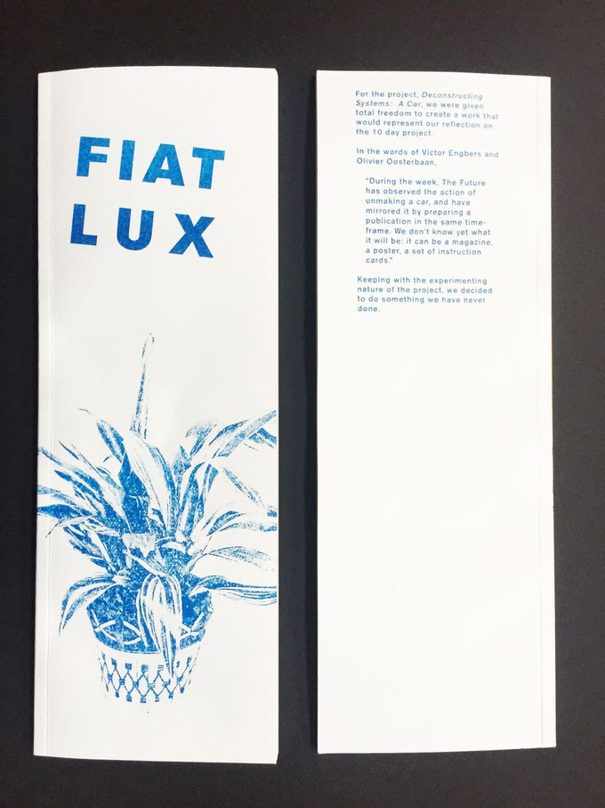 Image of Fiat Lux