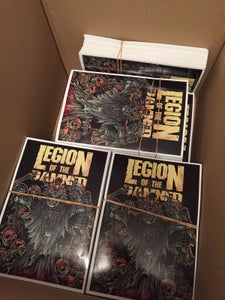 Image of Legion of the damned New sticker