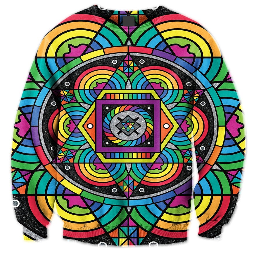 Image of Lost In Colors Crewneck