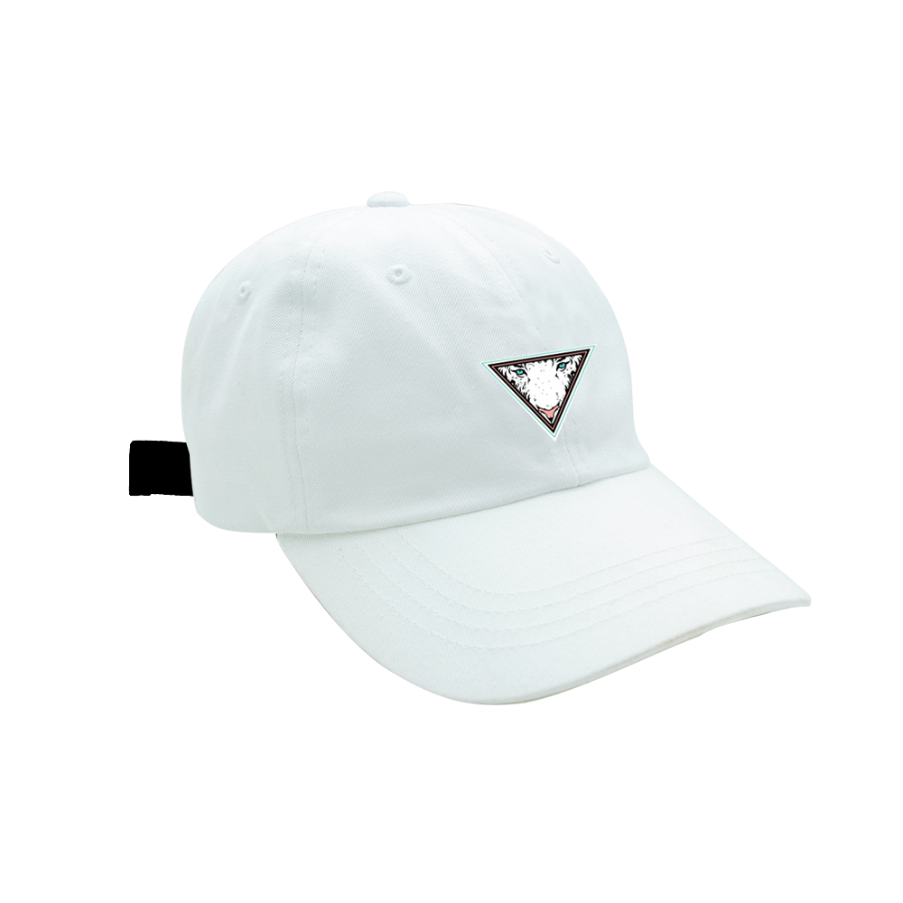Image of EYE OF THE TIGER - DAD HAT - WHITE
