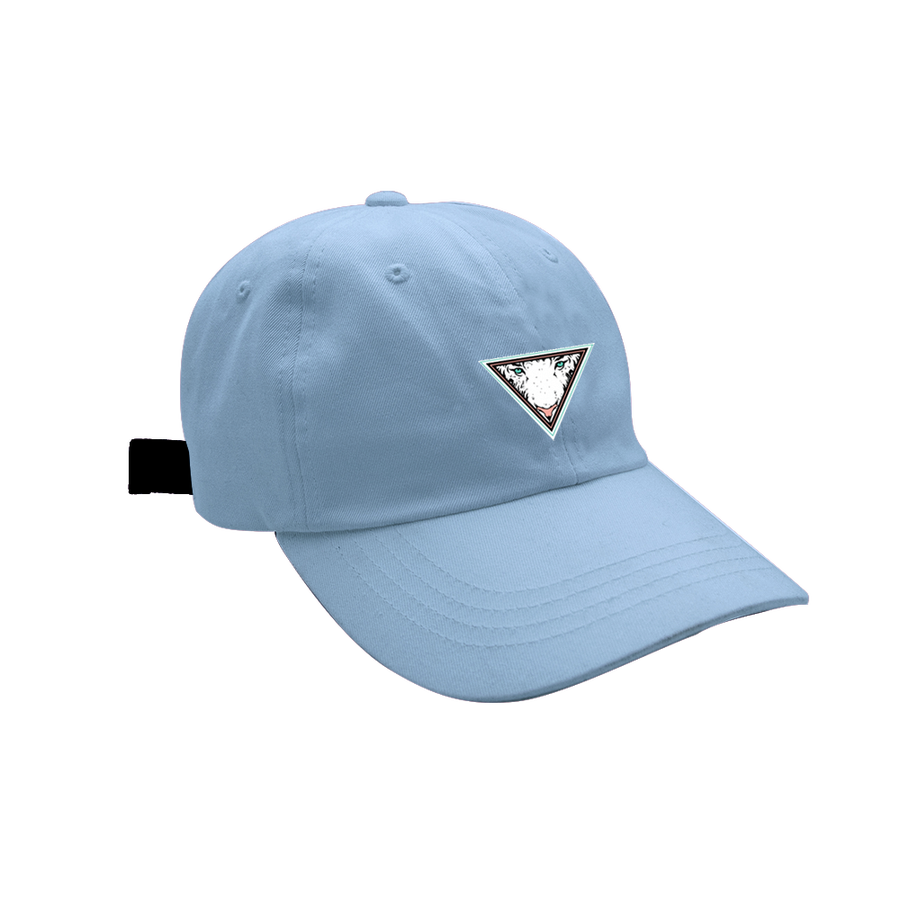 Image of EYE OF THE TIGER - DAD HAT - CAROLINA BLUE