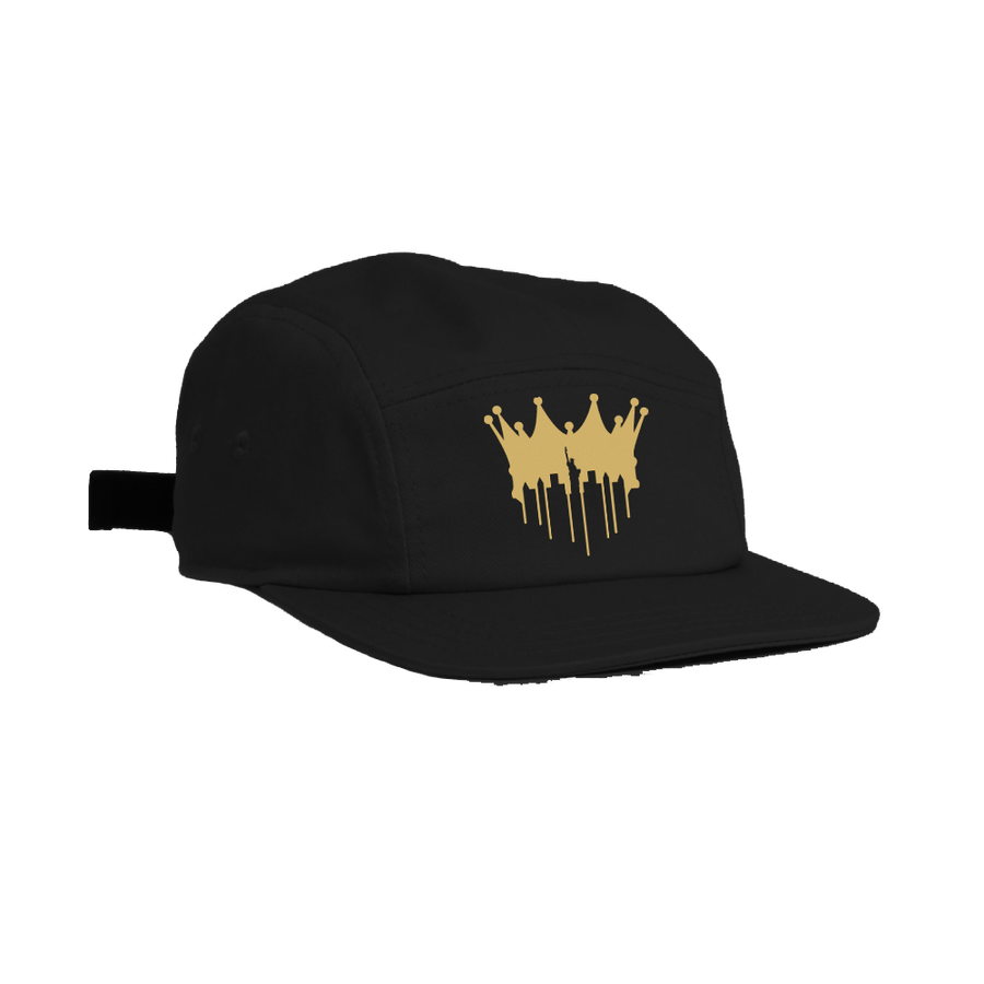 Image of CITY OF KINGZ 5 PANEL - BLACK & GOLD