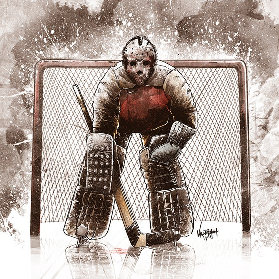 "Image of ""Jason Vorhees"" - Goalie Edition"