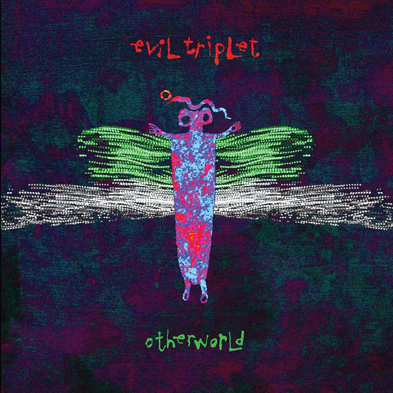 "Image of Evil Triplet ""Otherworld"" double LP"