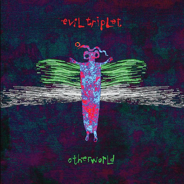 "Image of Evil Triplet ""Otherworld"" double LP"