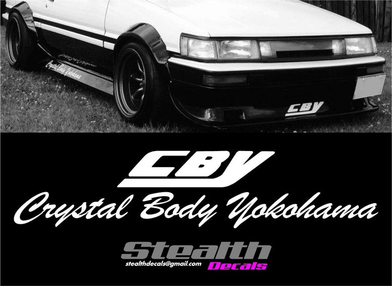 Image of CBY Decals Kit Ae86