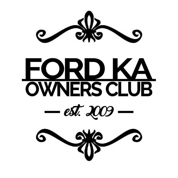 Ford Ka Owners Club Est  Sticker