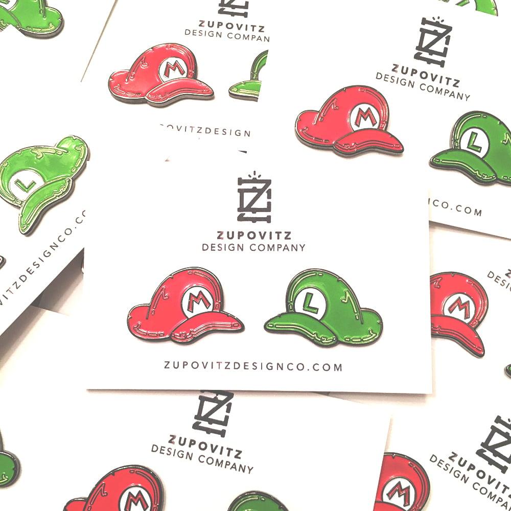 Image of The Mario Bros. Pin Set
