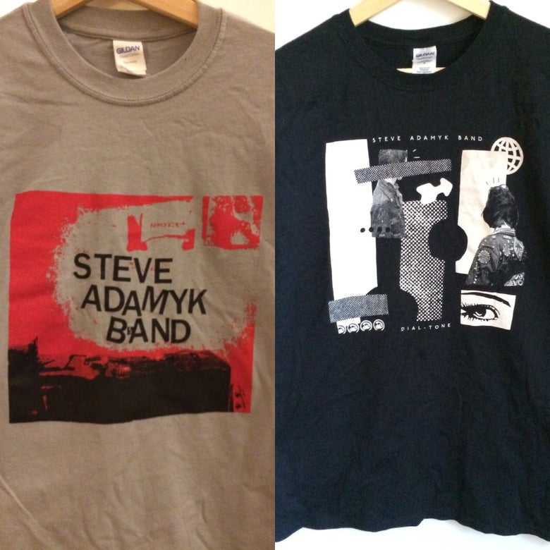 Image of Steve Adamyk Band - NEW SHIRTS